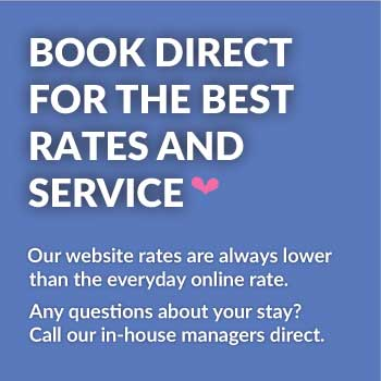 Book direct for the best rates and service