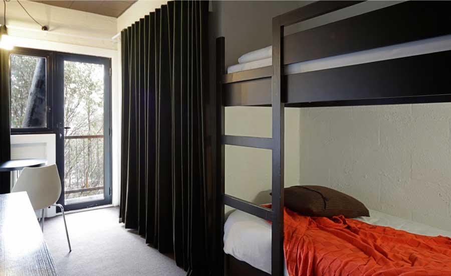 Bunk room – bunks and balcony