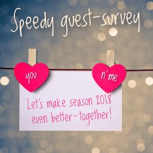 Speedy guest survey