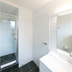 ensuite and shower